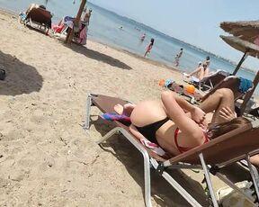Beach porno free Public Nude